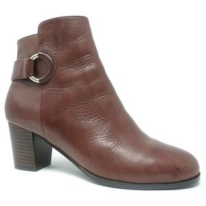 Cole Haan Grand OS Bailey Booties Cordovan